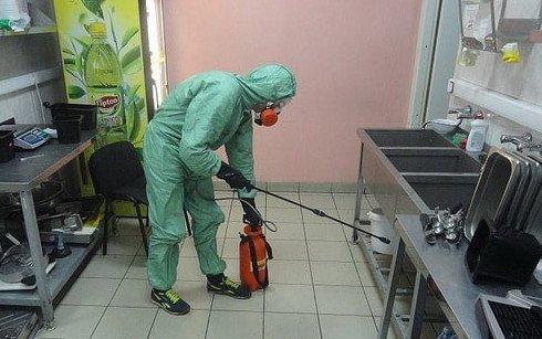 Уничтожение вредителей на объекте пищевой промышленности в МСК