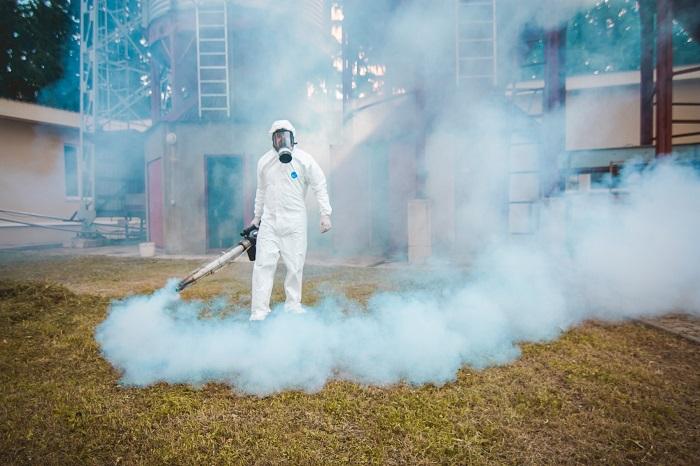 Применение тумана в борьбе с клопами