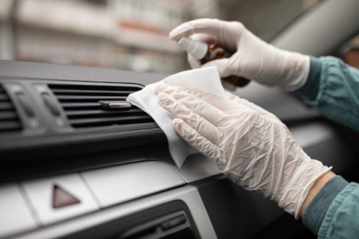 санитарная обработка кузова автомобиля