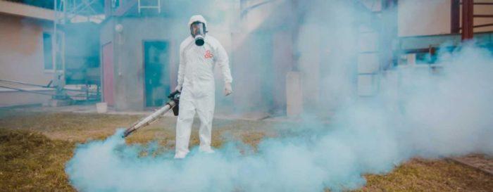 уничтожение тараканов горячим туманом сколько стоит