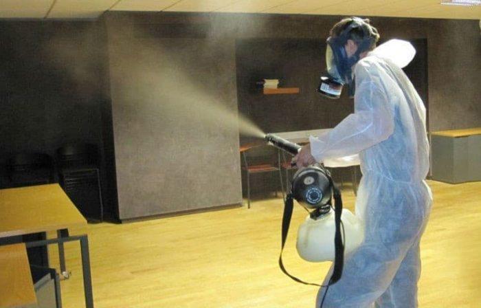 уничтожение тараканов горячим туманом в москве