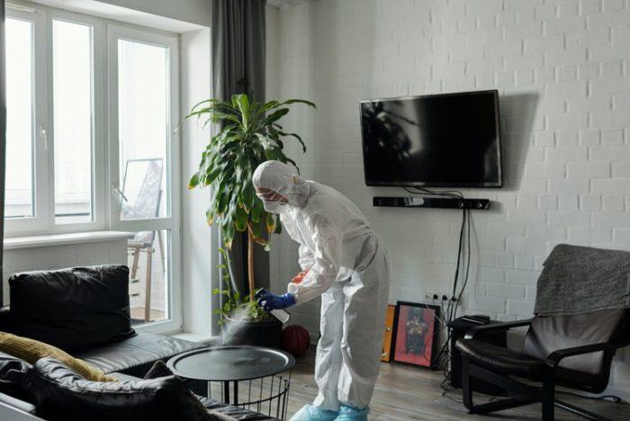 обеззараживание помещения